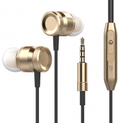 gold super bass headphones