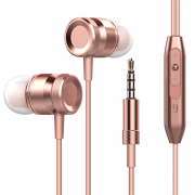rose gold super bass headphones